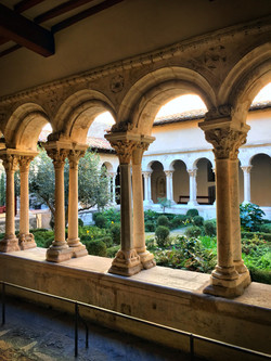 cloister in Aix en Provence