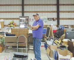 Leroy Garage Sale Manager, retired