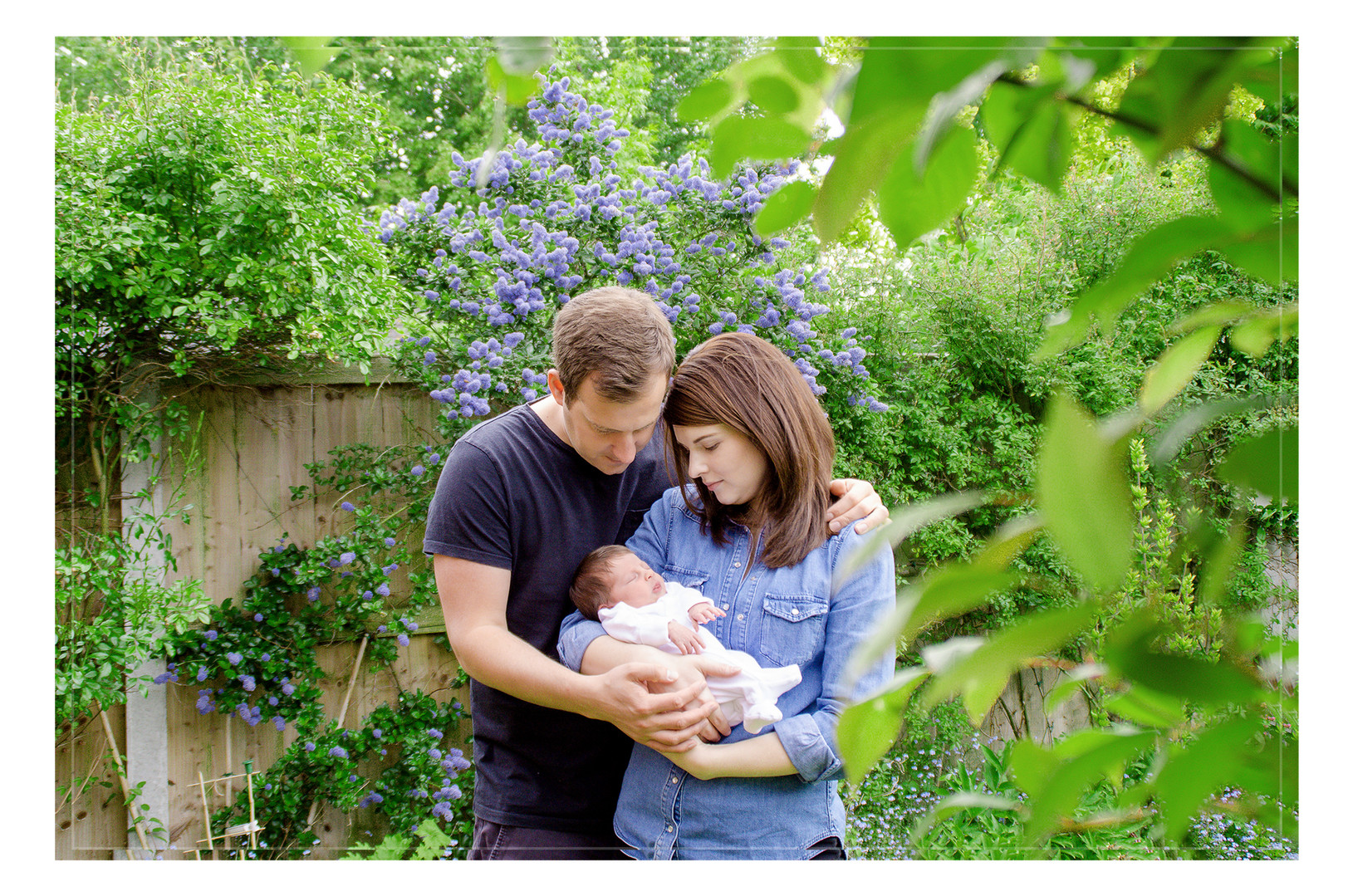 outdoor newborn baby photo shoot Colchester