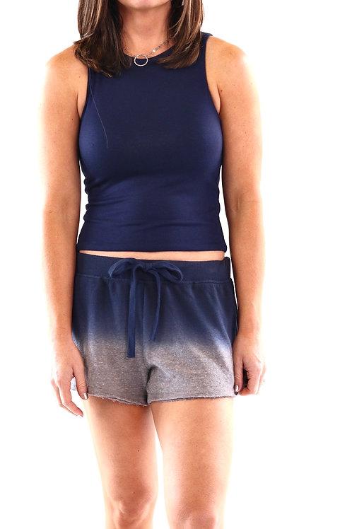 Ombre Dip Dye Shorts