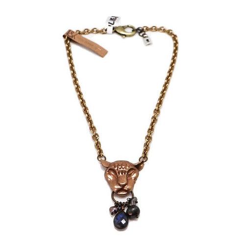 L&K Jaguar Head Necklace