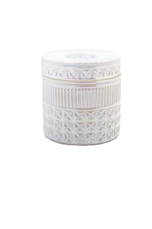 Volcano Candle - 11 oz White Opal