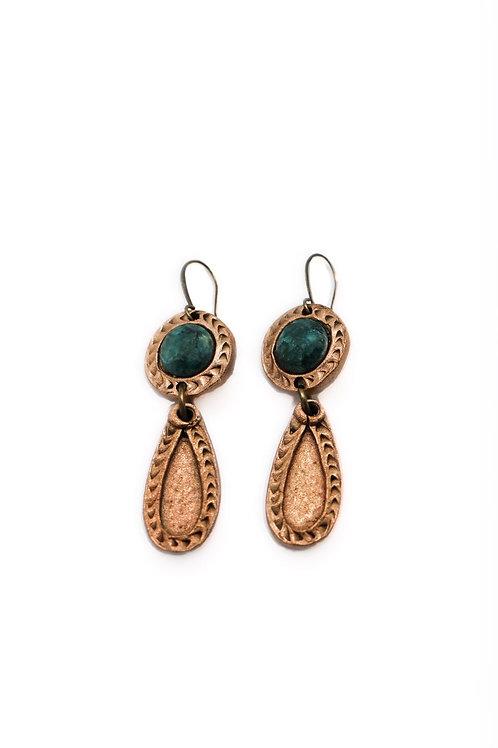 L&K Empress Theodora Earrings