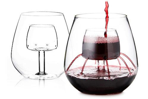 Aerating Shatterproof Wine Glasses