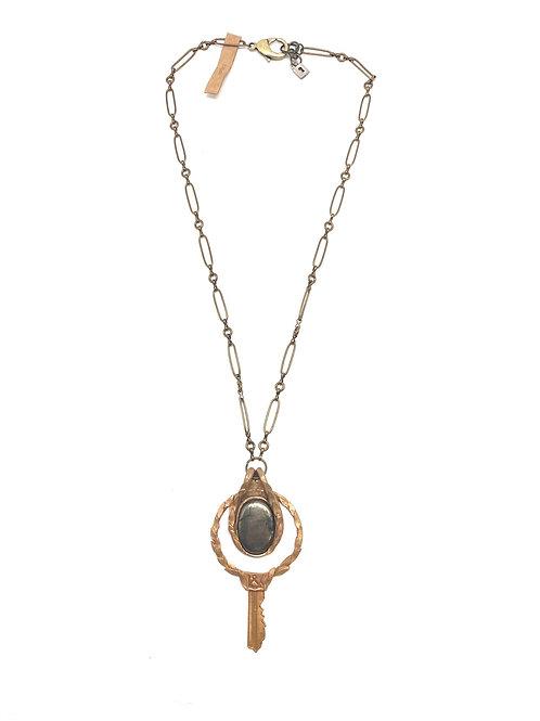 L&K Key Necklace