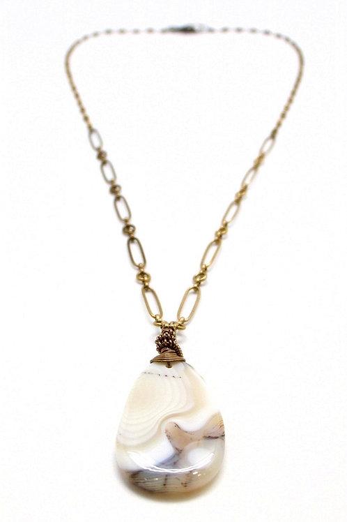 L&K Montana Agate Necklace