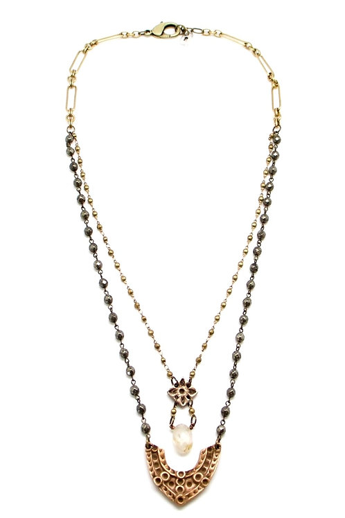 Maria Tallchief Layered Necklace