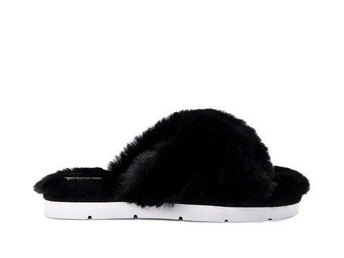 Dolce Vita Black Slippers