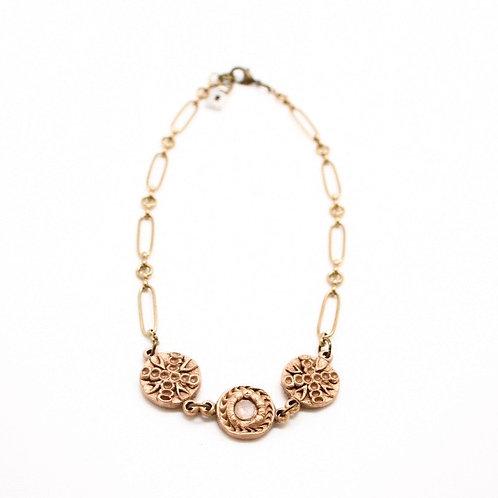 L&K Hydna of Scion Multi Medallion Necklace