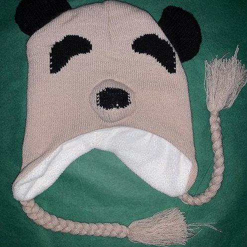 Knit Animal Hat Bear