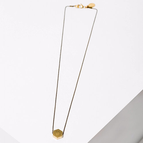 Larissa Loden Jewelry - Polymath Necklace - Hexagon