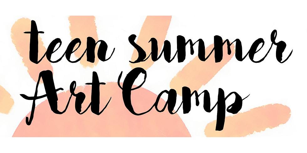 Teen Summer Art Camp 7/11