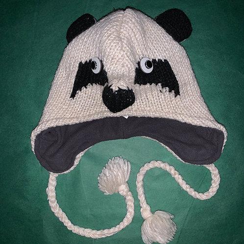 Knit Animal Hat Panda