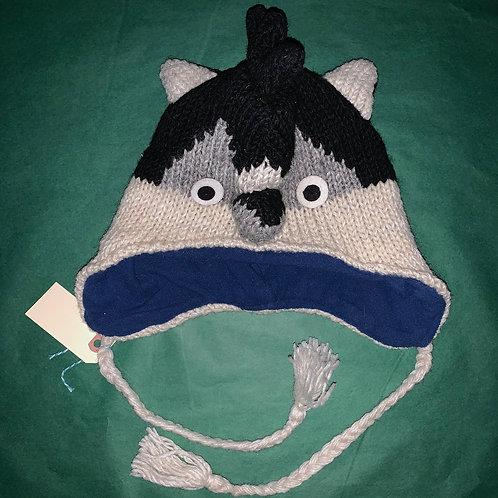 Knit Animal Hat Bird