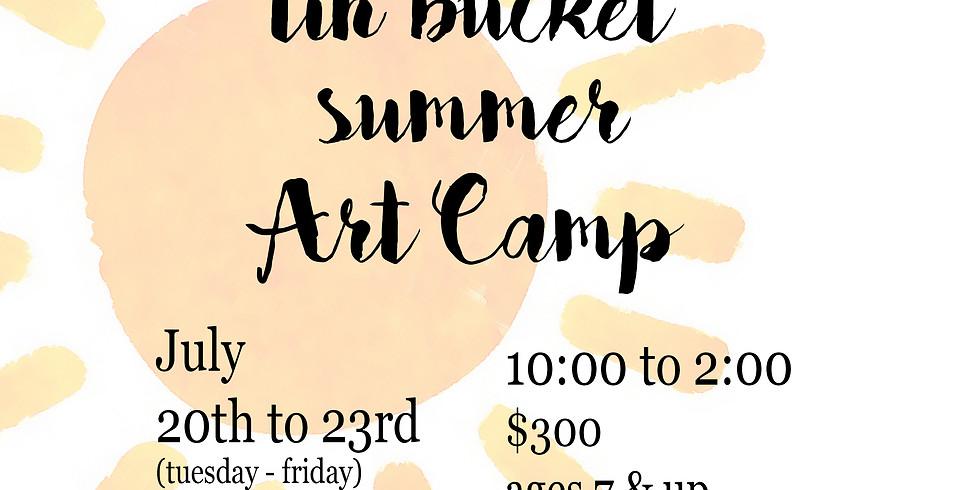 July Summer Art Camp