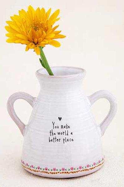 Artisan Bud Vase World Better
