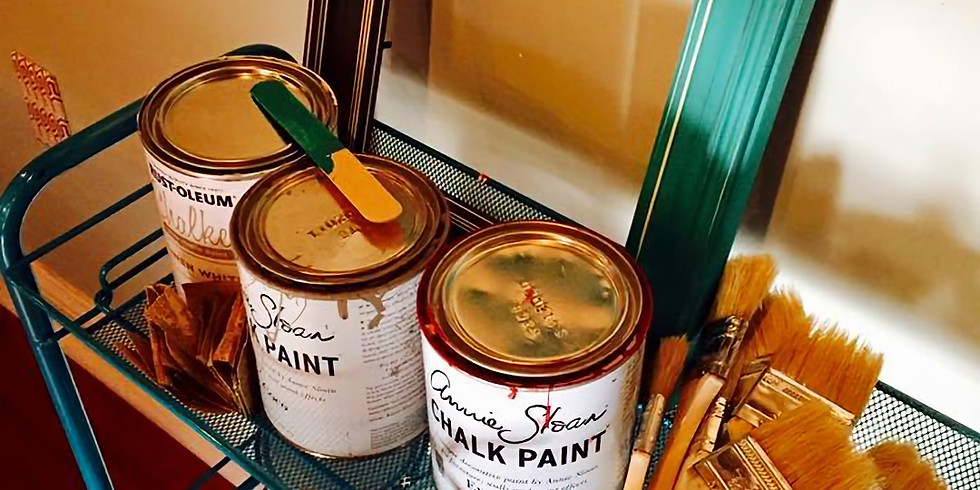 Be Creative, Intro to Chalk Paint!