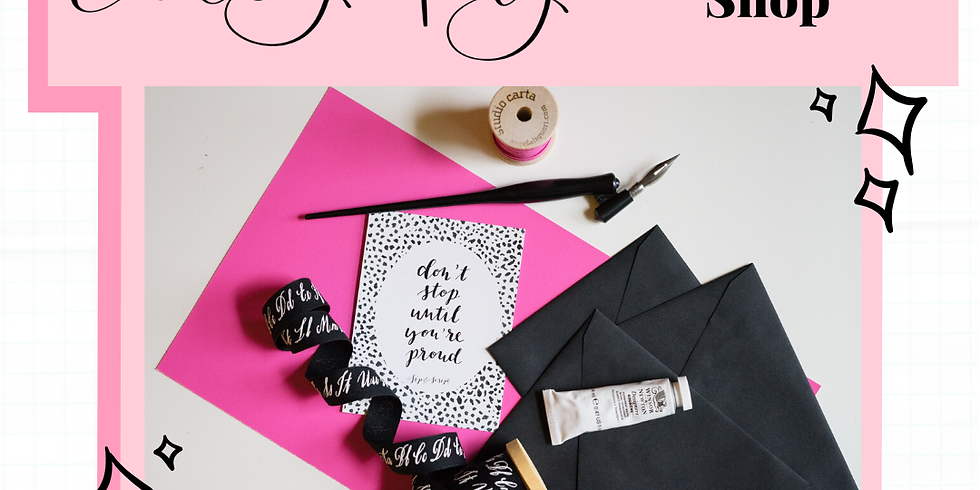 Modern Calligraphy with Sip & Script