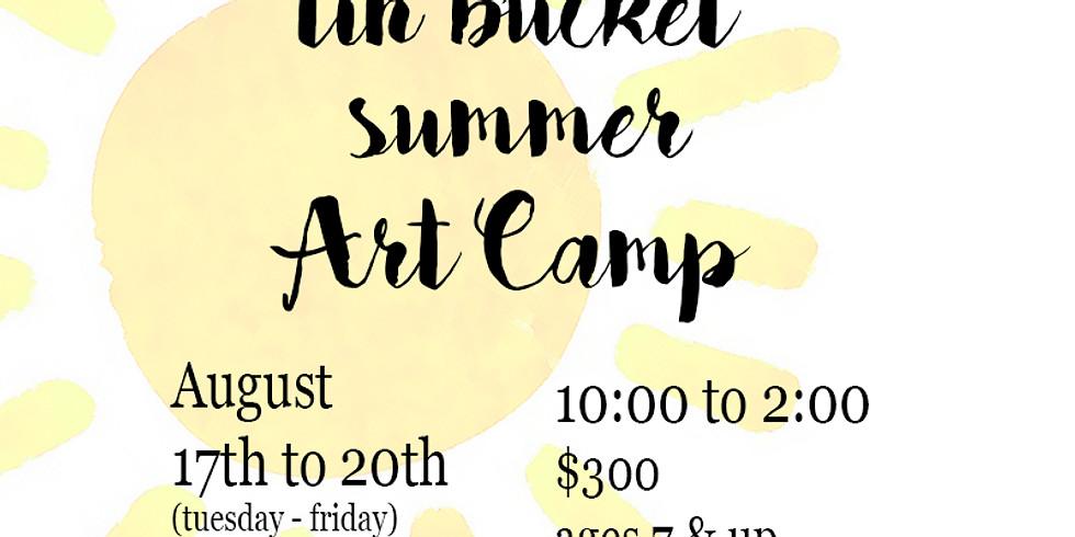 August Summer Art Camp