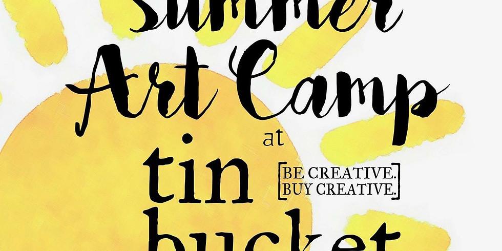 Summer July Art Camp full week