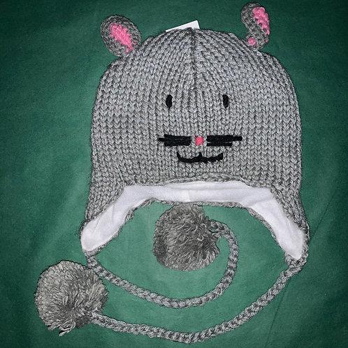Knit Animal Hat Cat