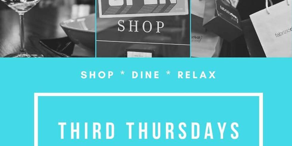Third Thursdays begins January 16th!