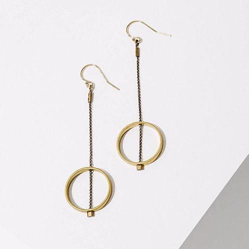 Larissa Loden Jewelry - Horizon Circle Earrings