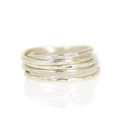 Mineral and Matter - Circle Ring (Silver)