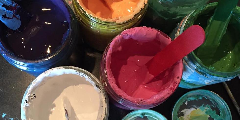 Paint Night Volleyball Fundraiser