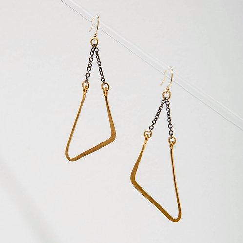 Larissa Loden Jewelry - Vintage Mod Swing Earrings