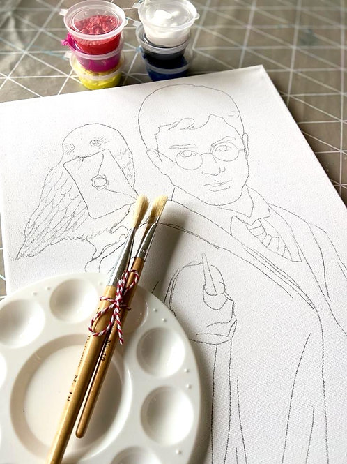 Painting kit - Harry Potter