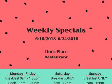 6/18/2018-6/24/2018