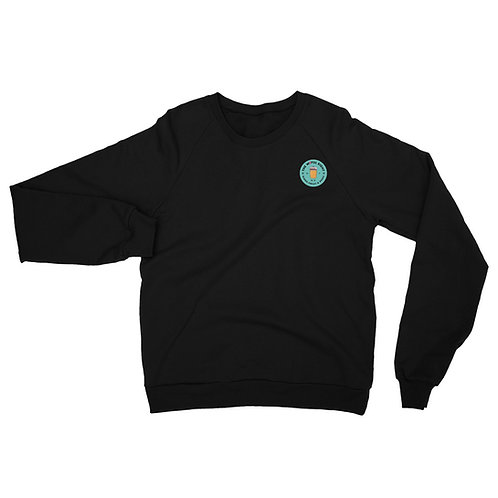 W8ful Eight Unisex California Fleece Raglan Sweatshirt