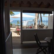vue de chambre studios côté mer