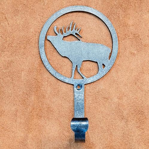 Hook-Elk Silhoutte