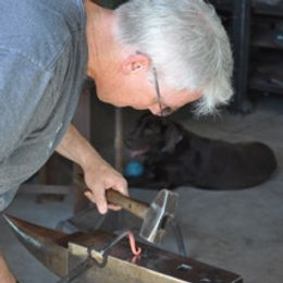 David Norrie Blacksmithing Level 1 class