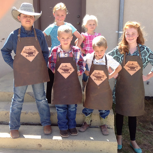 Kid's Blacksmith Aprons
