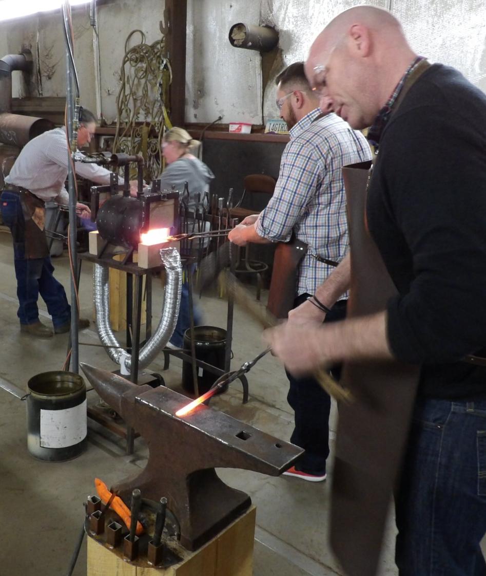 hipster blacksmiths