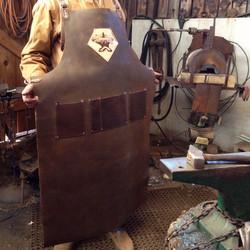 Custom Leather Blacksmith Apron XXXL