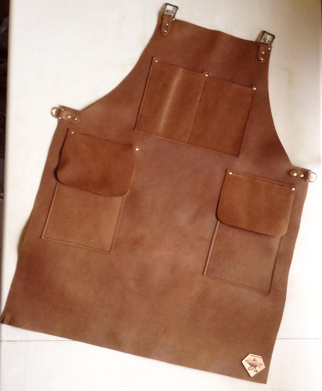 Custom apron with 3 pockets, no LOGO pocket