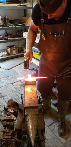 Andy Ruse - forge welding