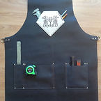 Various pocket sizes and placement options make Forge-Aprons work for you
