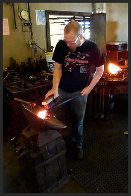 Coal Forge Blacksmithing Classes