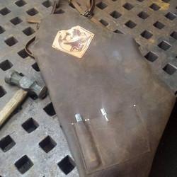 Blacksmith leather apron