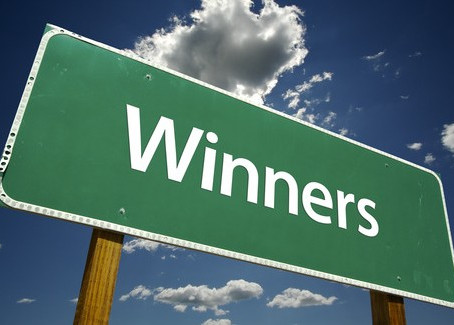 Winners of the BIG give-away