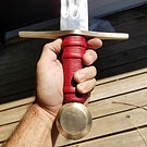 sword handle and hilt