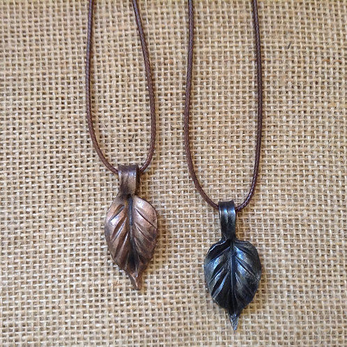 Necklace-Leaf