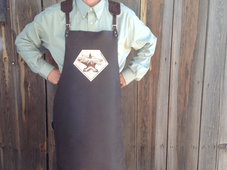 Forge-Aprons, the stuff of super-heroes.