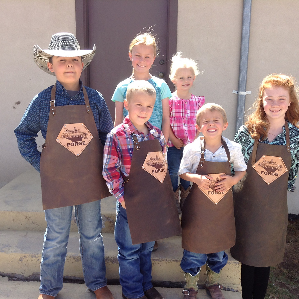 20% off any size kids apron for the next 24 hours.