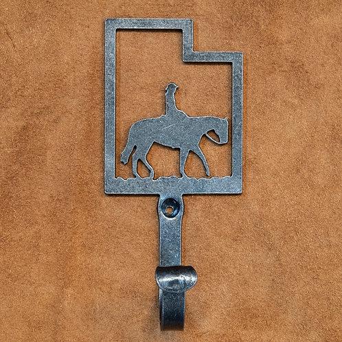 Hook- Horseback in Utah Silhoutte